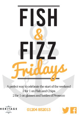 Friday Night is Fish & Fizz Friday