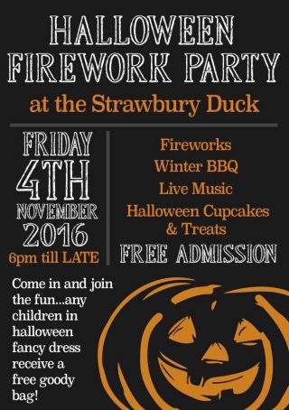 Halloween Firework Party